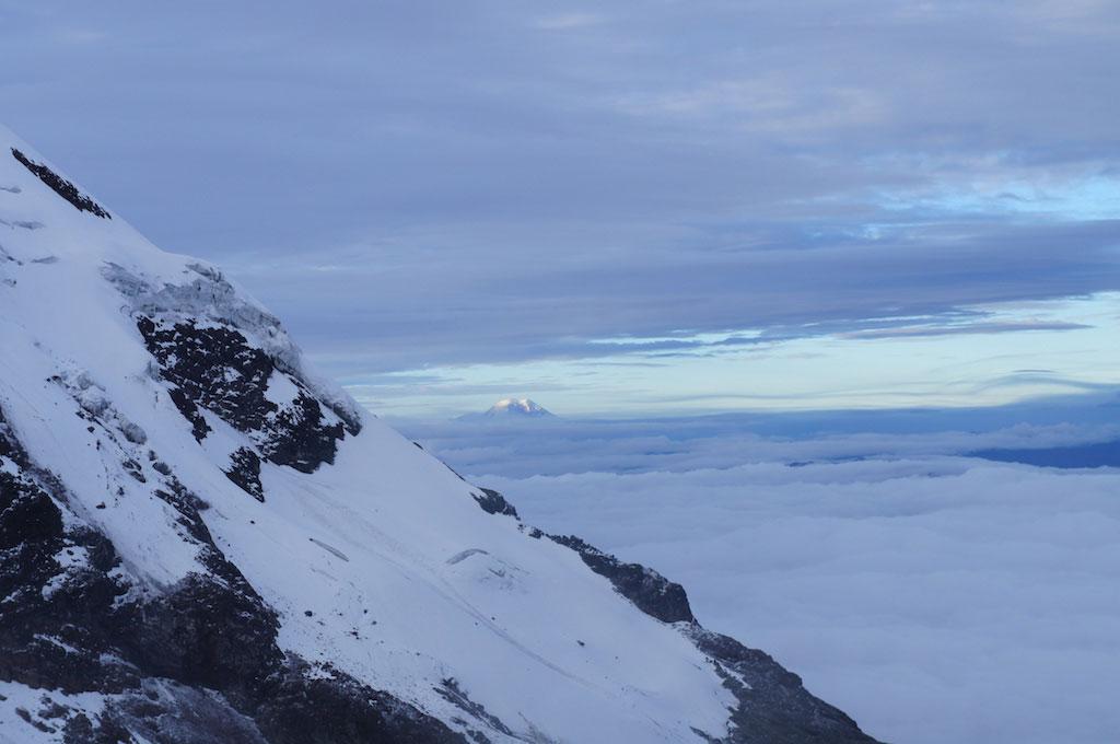 Volcan Iliniza Sur: ascension