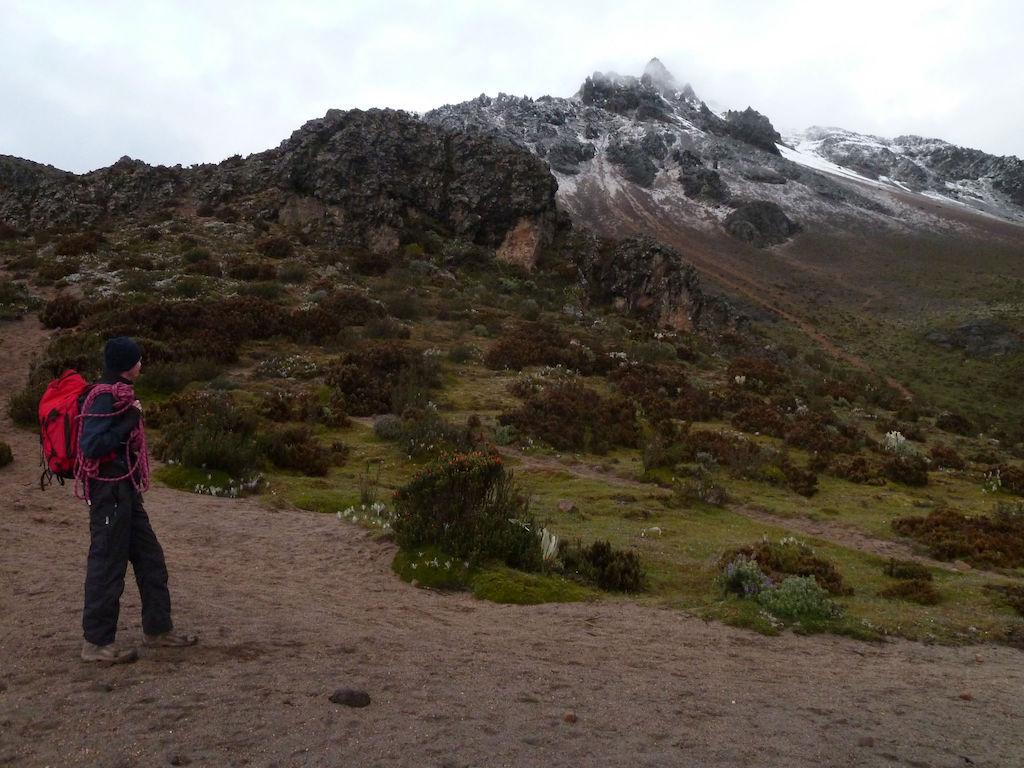 Volcan Iliniza Sur: début