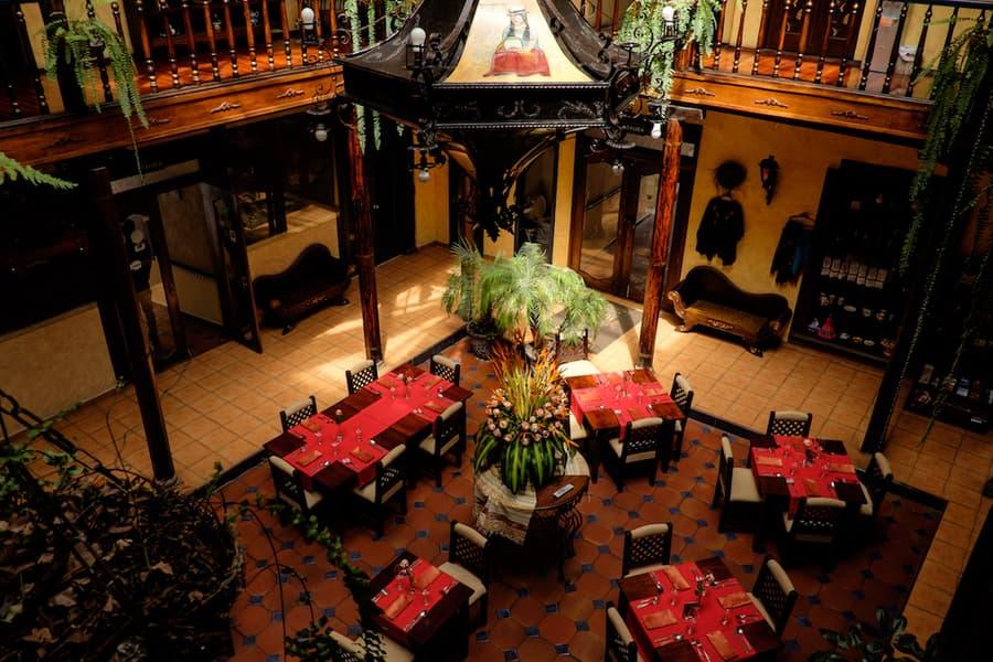 Hôtel Los Balcones, à Cuenca, Equateur, restaurant