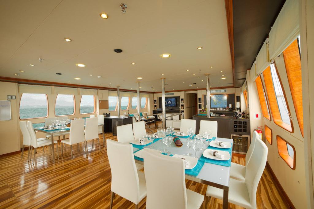 Croisière Galapagos Majestic, salle à manger