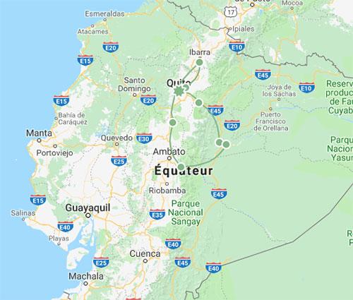 Bien-être en Equateur, le voyage
