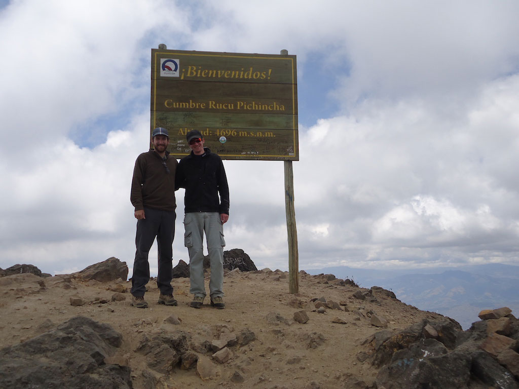 Sommet du volcan Rucu Pichincha