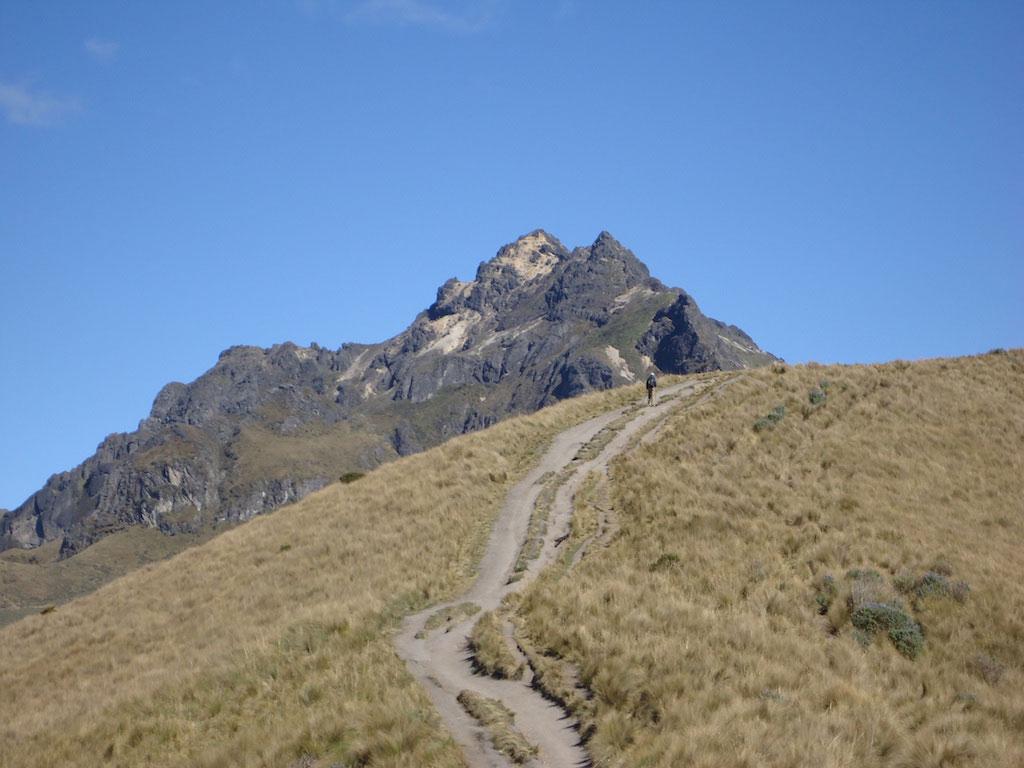 Volcan Rucu Pichincha: vers le sommet