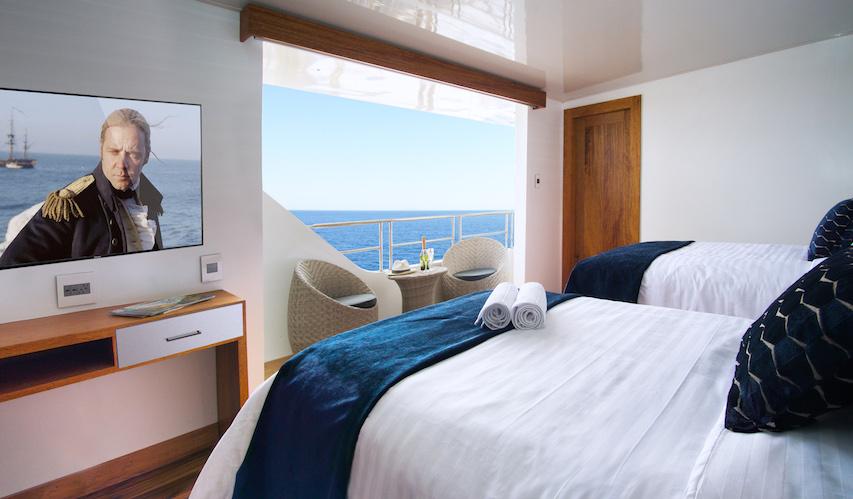 Croisière Infinity Galapagos, cabine standard twin
