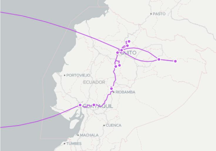 Luxe et voyages en Équateur, itinéraire