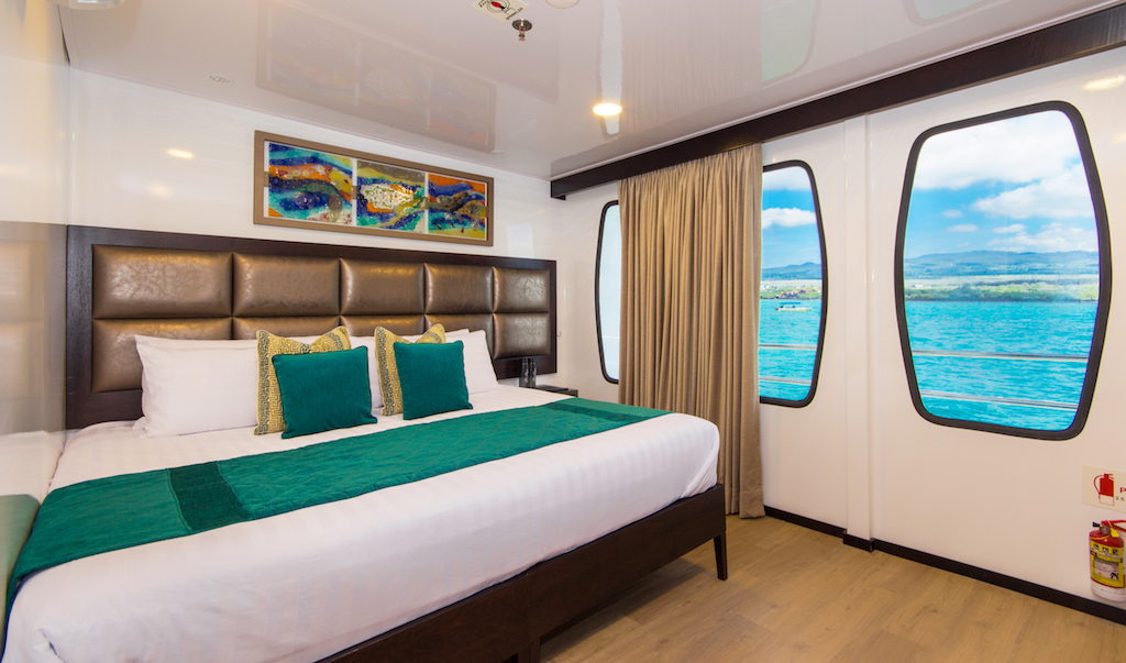 Croisière Alya Galapagos, cabine double