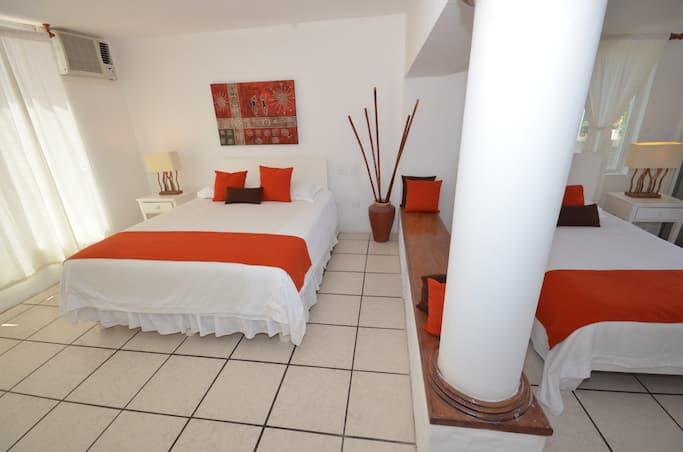 Hôtel Casa Opuntia, Île San Cristobal, Galapagos, Equateur, chambre standard triple