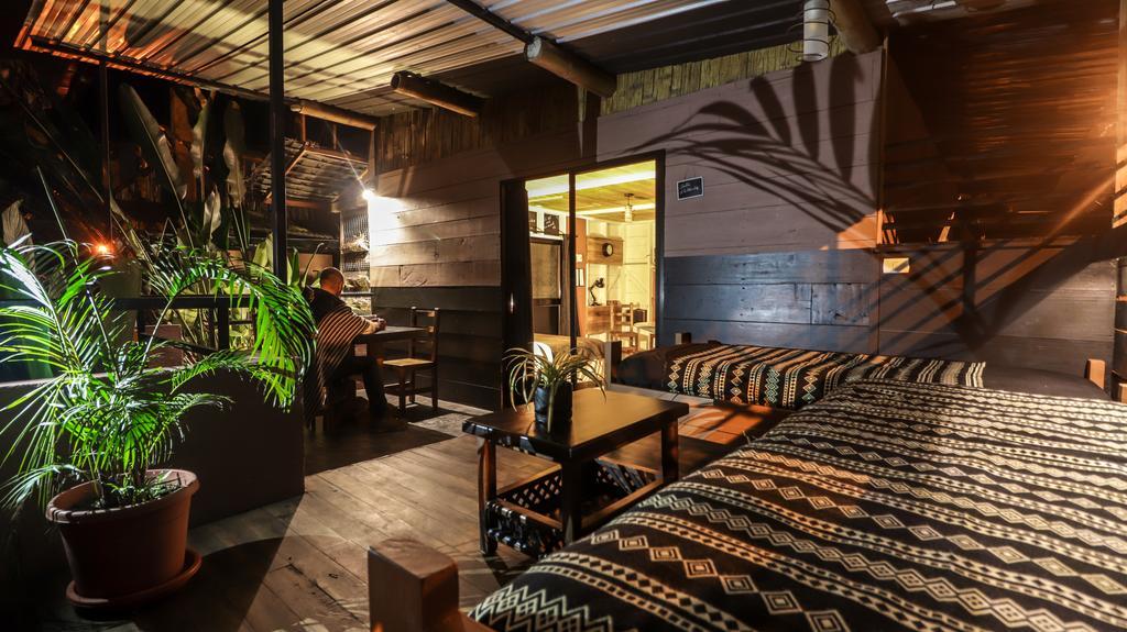 Lodge Bicok, Mindo, chambre hal de gare