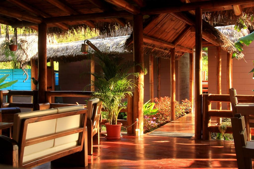 Lodge Bicok, Mindo, lobby