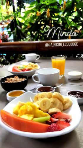 Lodge Bicok, Mindo, petit-déjeuner