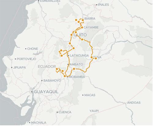 Voyage communautaire en Equateur