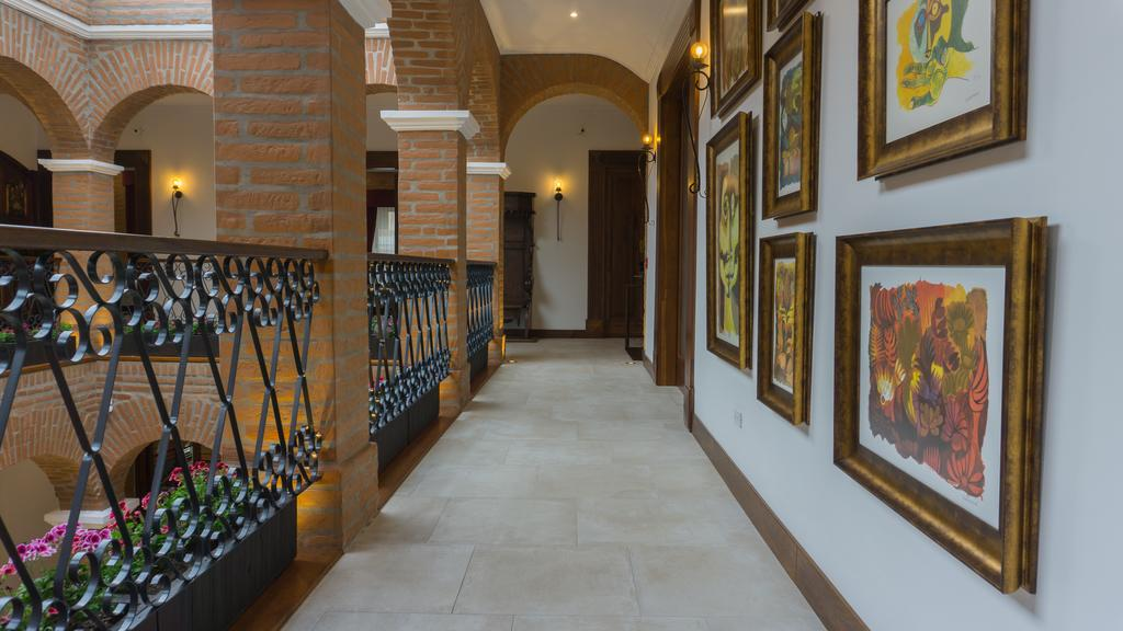 Intérieur de l'hôtel Otavalo