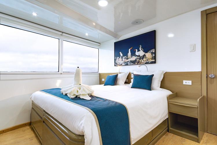 Croisière Galapagos Calipso, cabine matrimoniale