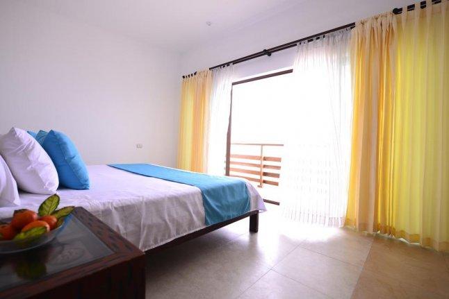 Hôtel Cormorant Beach House, sur l'île Isabela, aux Galapagos, Equateur, Suite Junior avec vue sur la mer