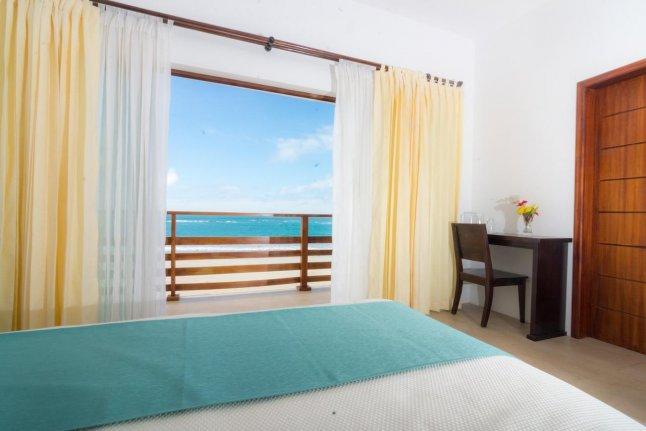 Hôtel Cormorant Beach House, sur l'île Isabela, aux Galapagos, Equateur, Junior Suite avec vue sur la mer