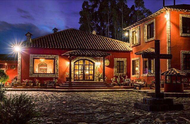 Façade de l'Hacienda Hato Verde