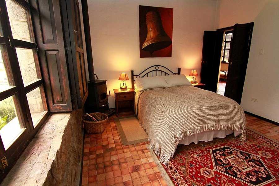 Chambre standard lit double l'Hacienda Hato Verde