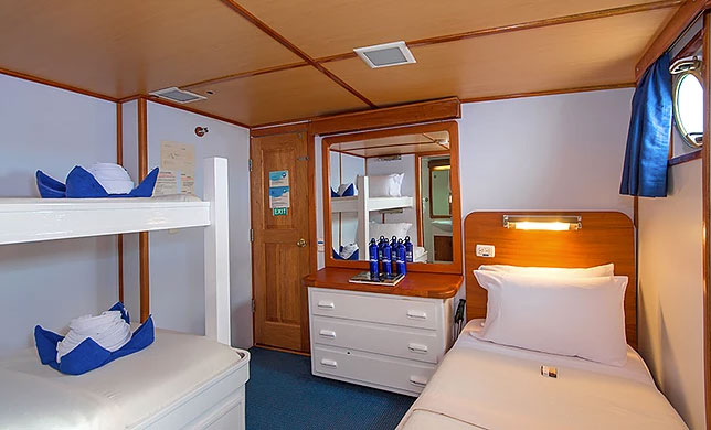 Croisière Galapagos Beluga, cabine #1