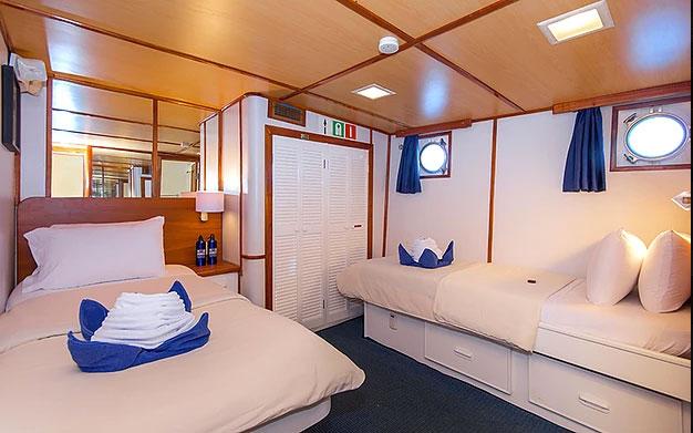 Croisière Galapagos Beluga, cabine #2
