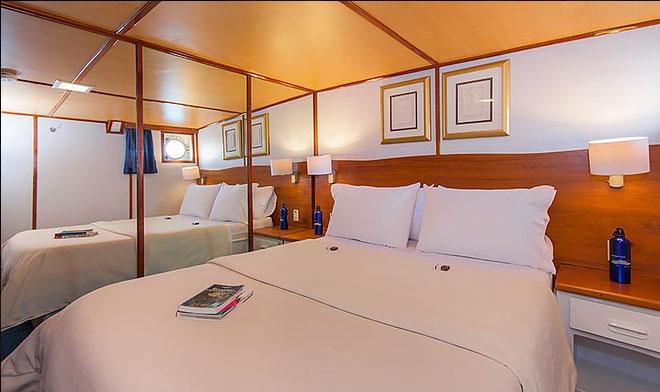 Croisière Galapagos Beluga, cabine #5