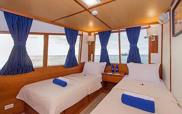 Croisière Galapagos Beluga, cabine #6