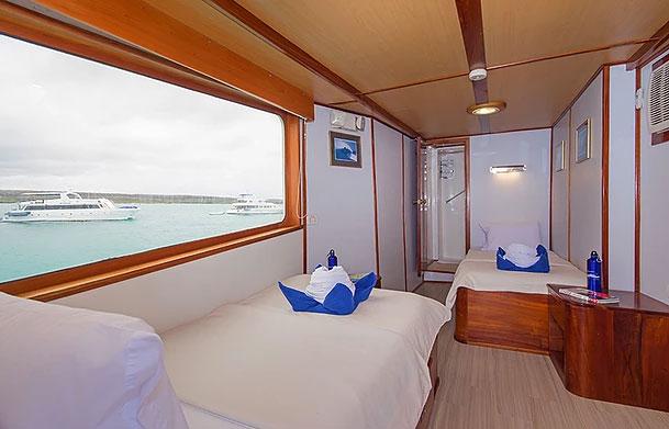 Croisière Galapagos Beluga, cabine #8
