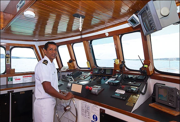 Croisière Galapagos Beluga, capitaine