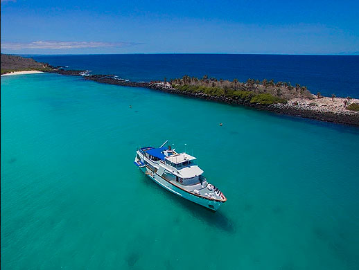 Croisière Galapagos Beluga, vue extérieure
