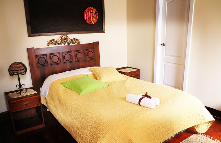 Hôtel Portal de Cantuña à Quito, Equateur, chambre standard simple
