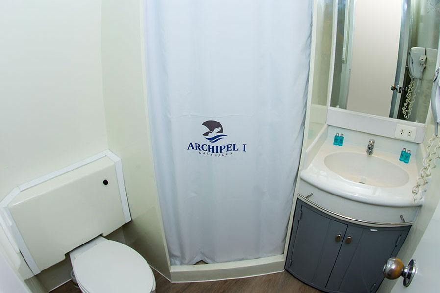 Croisière Archipel I Galapagos, salle de bain