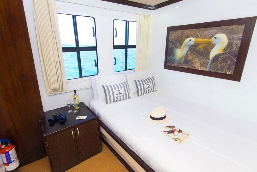 Croisière Archipel II Galapagos, cabine double