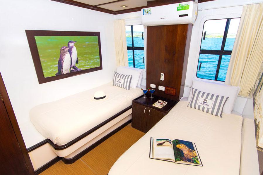 Croisière Archipel II Galapagos, cabine standard