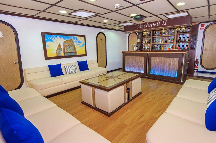 Croisière Archipel II Galapagos, salon
