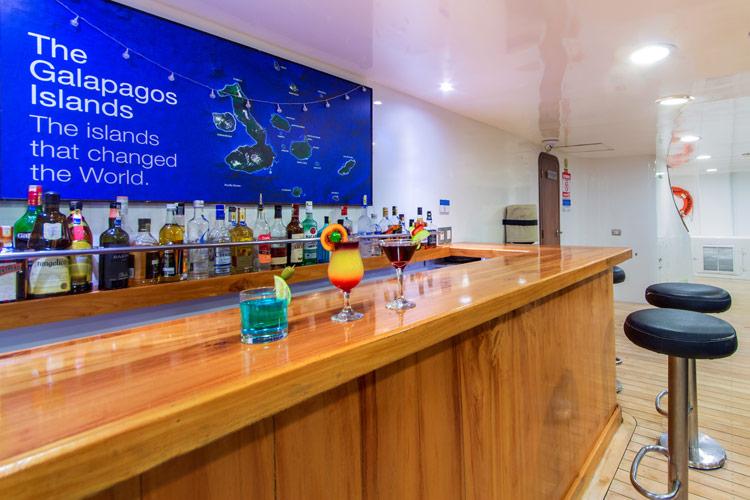 Croisière Cormorant Galapagos, bar