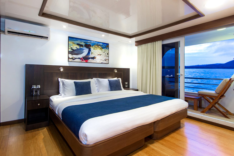 Croisière Cormorant Galapagos, cabine standard double