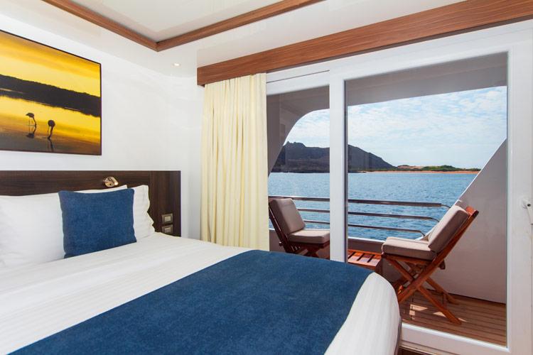 Croisière Cormorant Galapagos, cabine standard matrimoniale