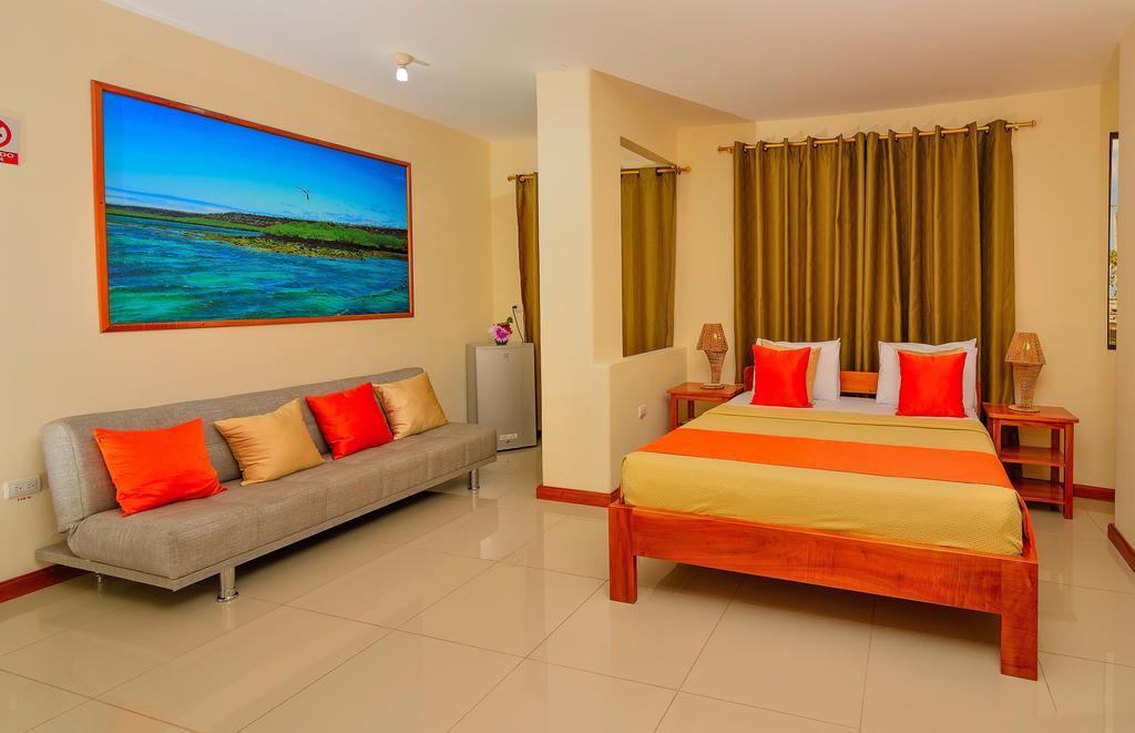 Hôtel Descanso del Guía aux Galapagos île Santa Cruz, Chambre standard lit double