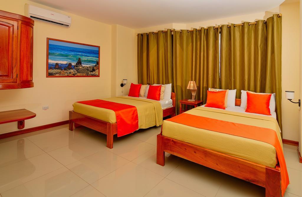 Hôtel Descanso del Guía aux Galapagos île Santa Cruz, Chambre standard triple
