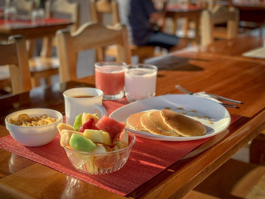 Hôtel Descanso del Guía aux Galapagos île Santa Cruz, Petit-déjeuner