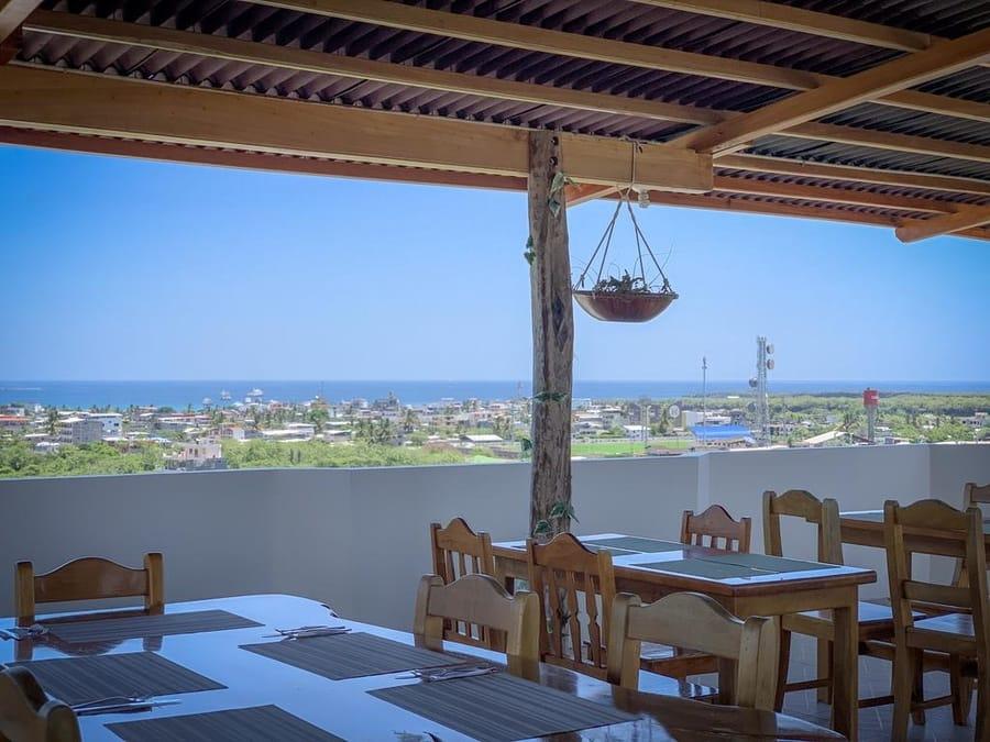 Hôtel Descanso del Guía aux Galapagos île Santa Cruz, Restaurant