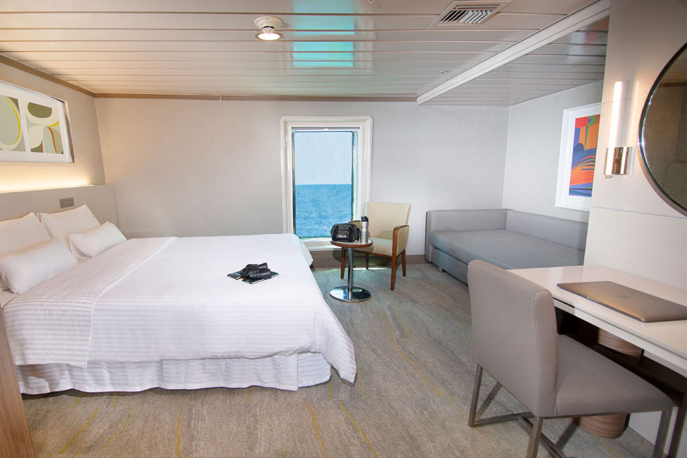 Croisière La Pinta Galapagos, cabine luxury Plus