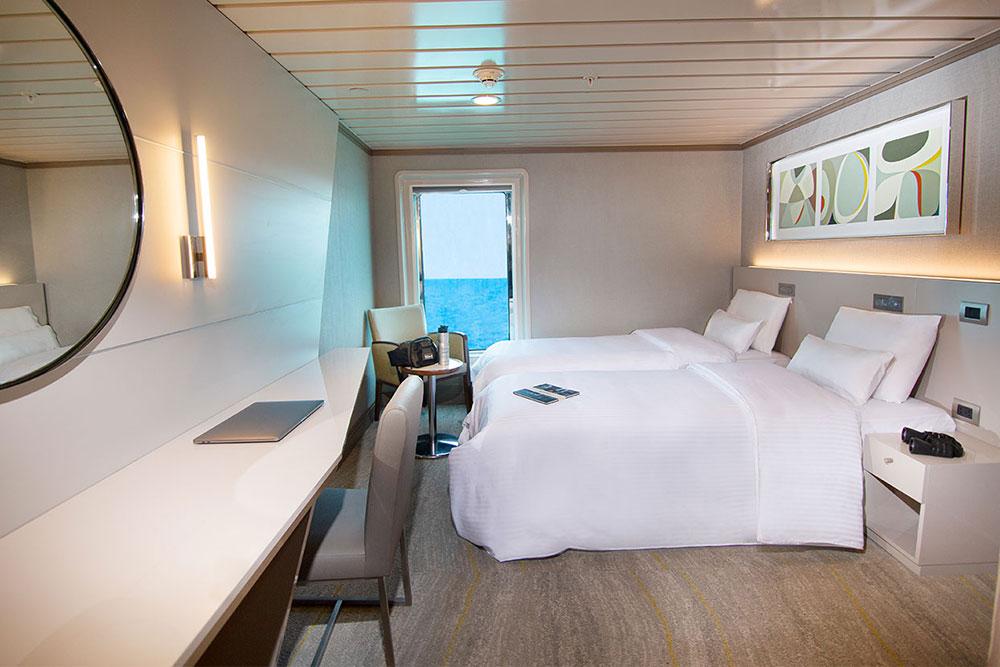Croisière La Pinta Galapagos, cabine luxury