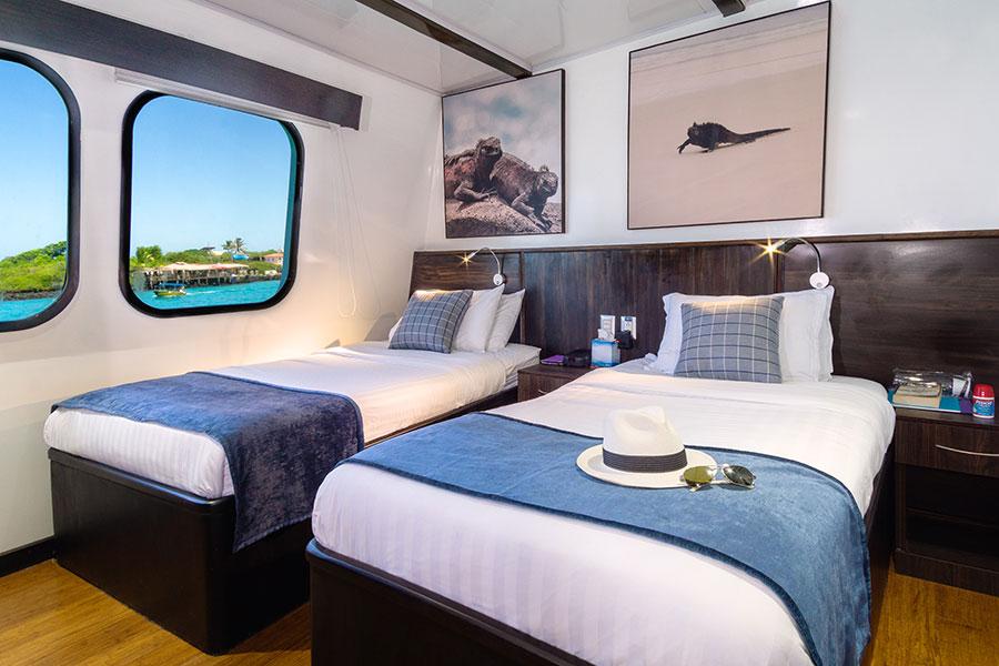 Croisière Natural Paradise Galapagos, cabine standard