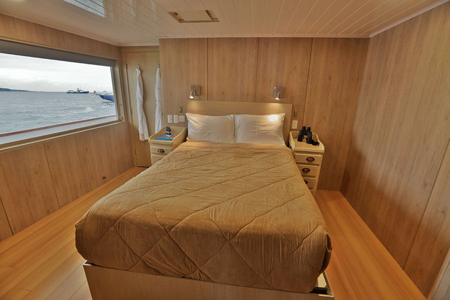Croisière Passion Galapagos, cabine standard double