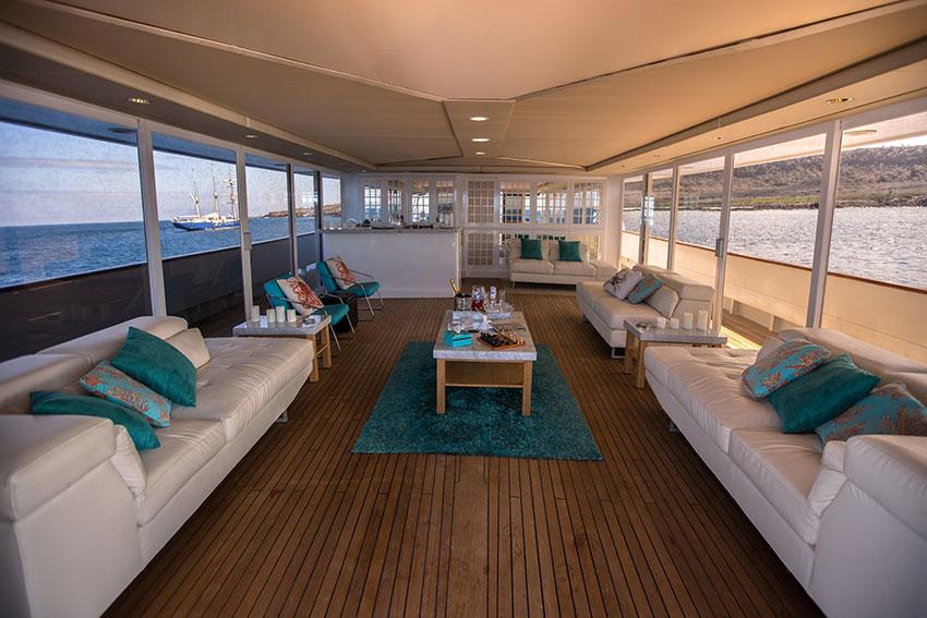 Croisière Passion Galapagos, suite VIP vue