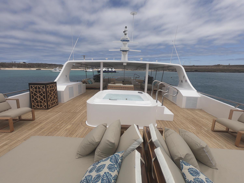 Croisière Sea Star Galapagos, pont supérieur