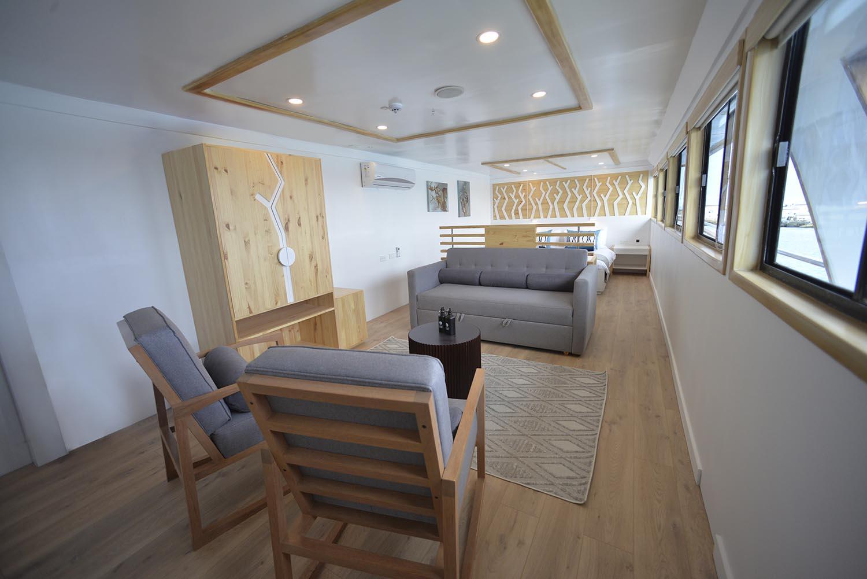 Croisière Sea Star Galapagos, suite salon