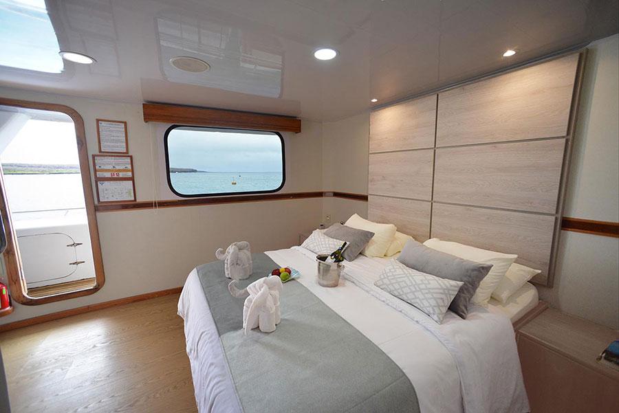 Croisière Seaman Journey Galapagos, cabine double matrimoniale
