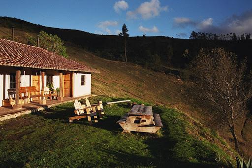 Hôtel Lodge Black Sheep Inn, Chugchilan, Equateur, vue extérieure