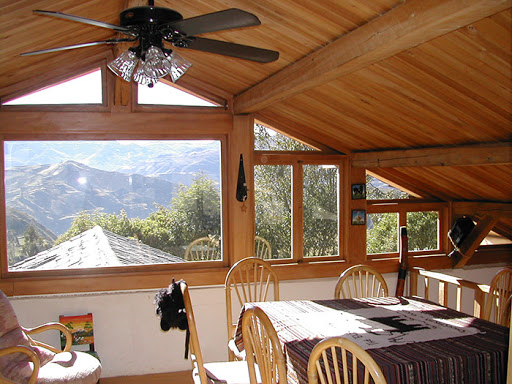 Hôtel Lodge Black Sheep Inn, Chugchilan, Equateur, restaurant et point de vue